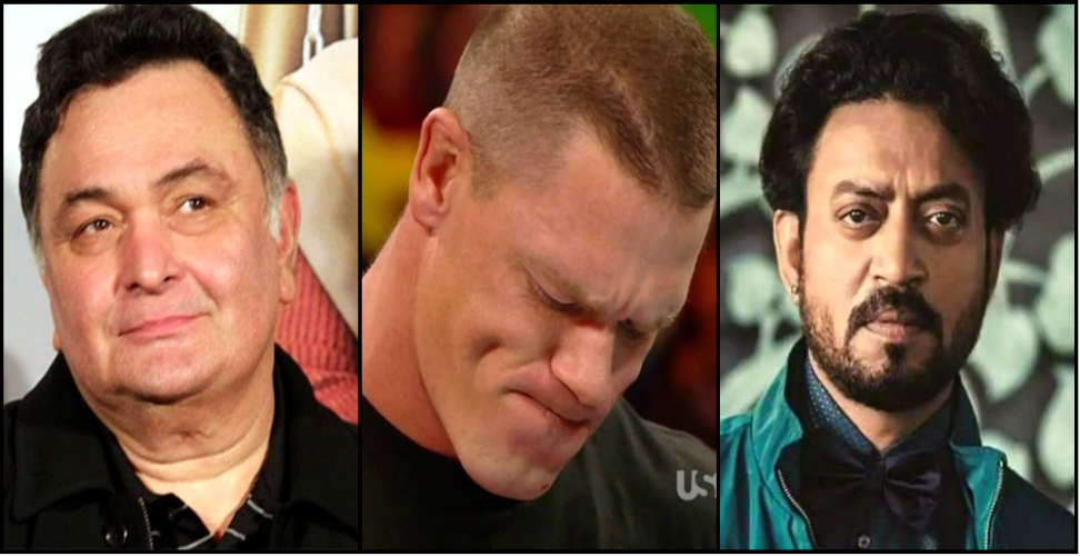 john cena tribute irfan khan and rishi kapoor