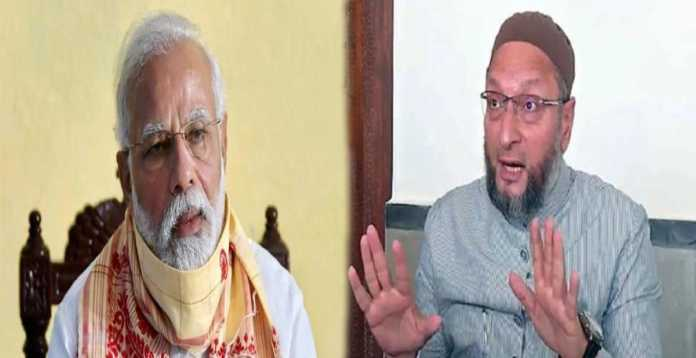 Owaisi on pm modi