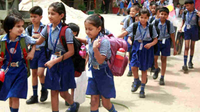 Schools can open from September 2020