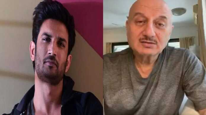 Sushant suicide on Anupam