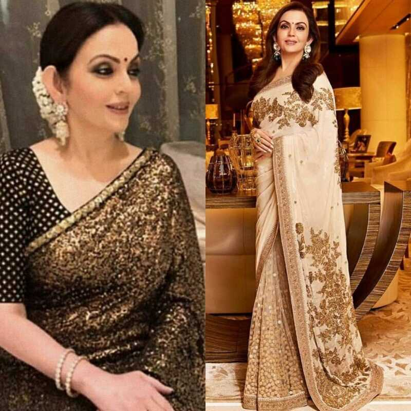 nita ambani sarees collection
