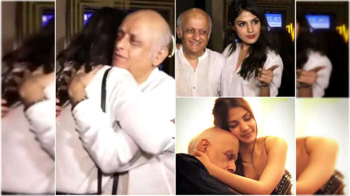 rhea chakraborty video with mukesh bhatt