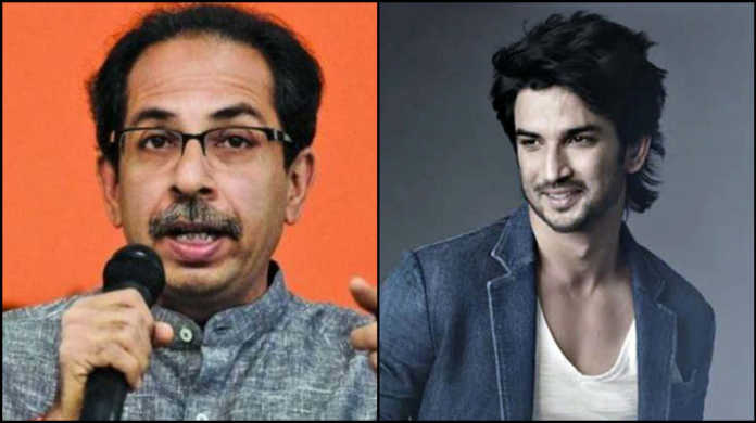 uddhav thackeray on sushant singh rajput