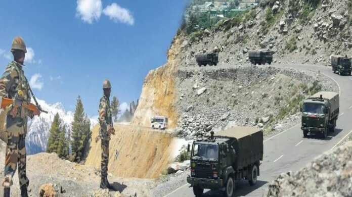 Indian army enter china area