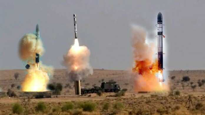 India test-fired 10 deadly missiles