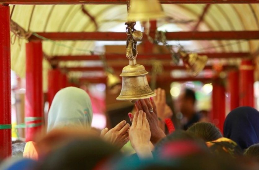 bell ringing in temple