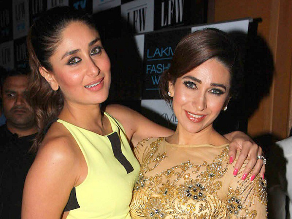 karishma and kareena bonding