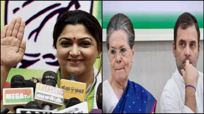 khushboo sundar may join BJP