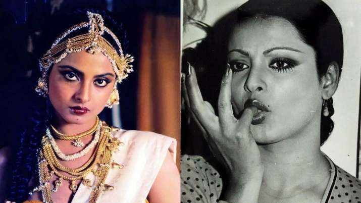 rekha unseen pictures