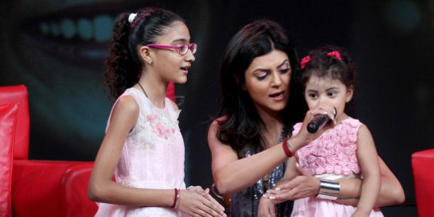 sushmita sen daughters 1