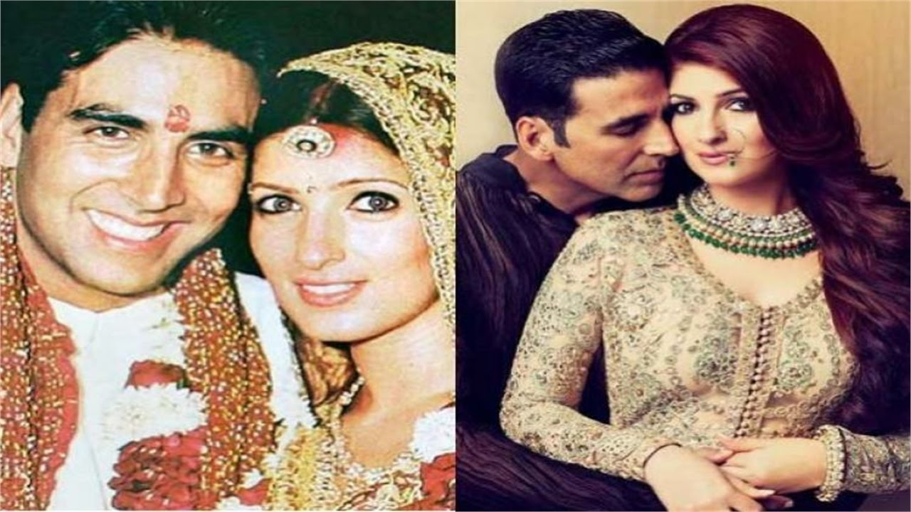 akshay with wife