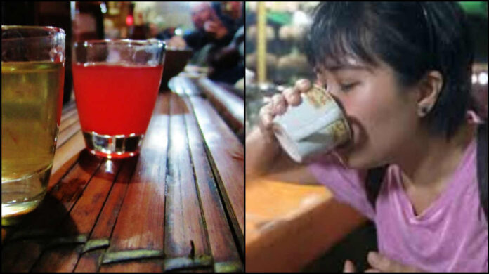 indonesia girls drinking cobra snake blood for beautiful skin