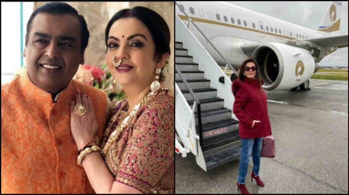 nita ambani private jet price-photos