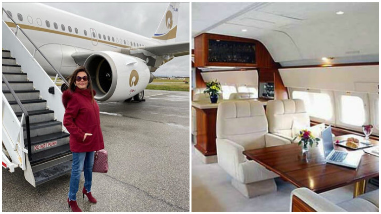 nita ambani private jet