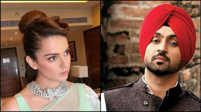 twitter war between kangna ranaut and diljit dosanjh