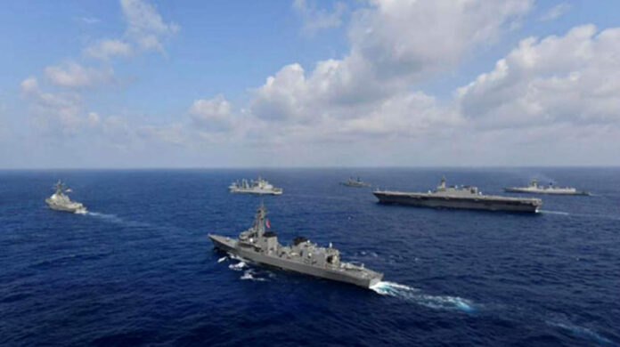 us japan france joint military exercise