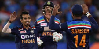 yuzvendra chahal record in T-20 Series