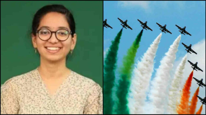 aishwarya sharma flying officer-mahu-bhopal