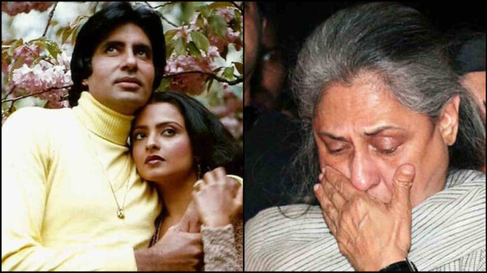 amitabh bachchan angry on jaya bachchan post an interview