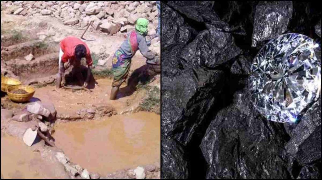 Panna-workers-found-two-diamonds
