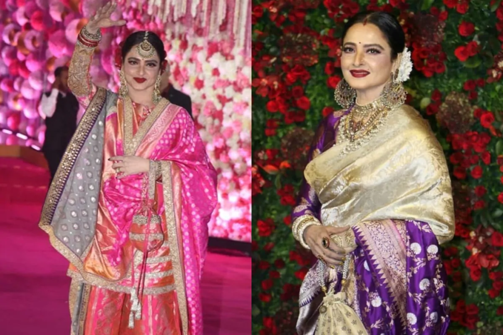 Rekha on marriage and sex life