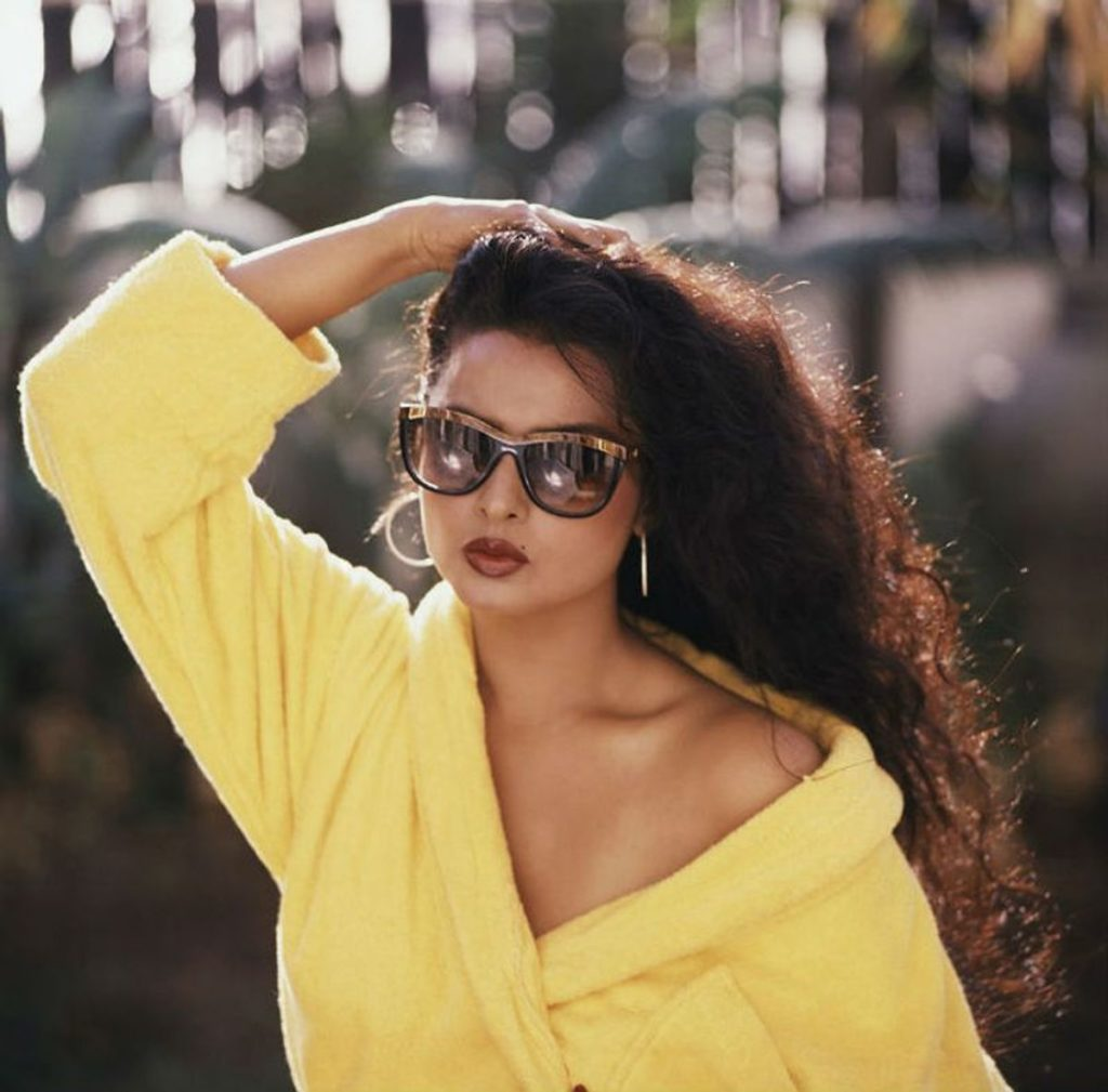 rekha bold photos