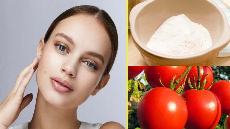 rice and tomato face pack