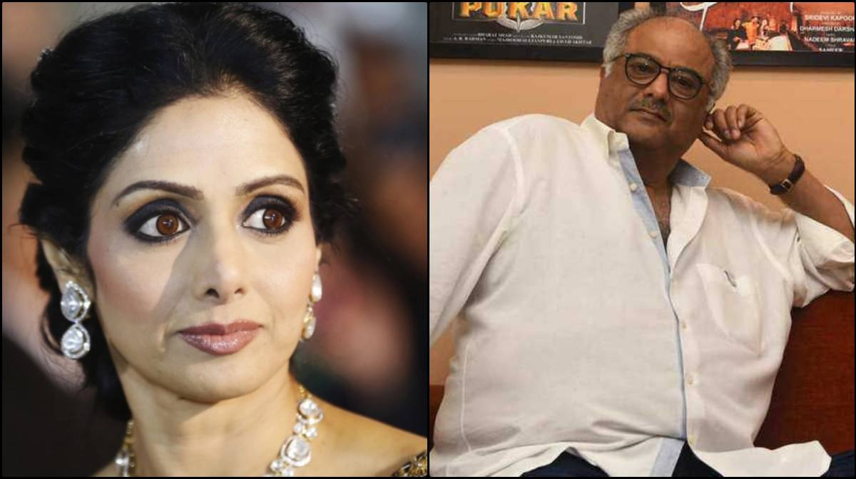 sridevi uncle claim boney kapoor