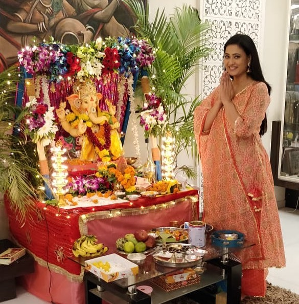 Shweta Tiwari home temple