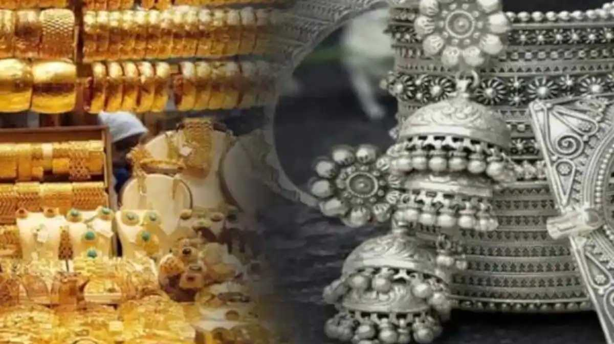 gold silver price today 23 march